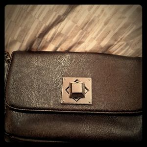 Charming Charlie brown  cross over purse